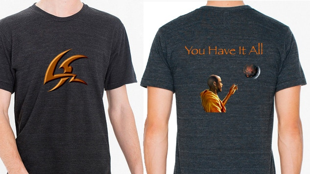 Lobate Scarp Kickstarter Exclusive T-shirt (Shirt style and graphics may alter from what is pictured)
