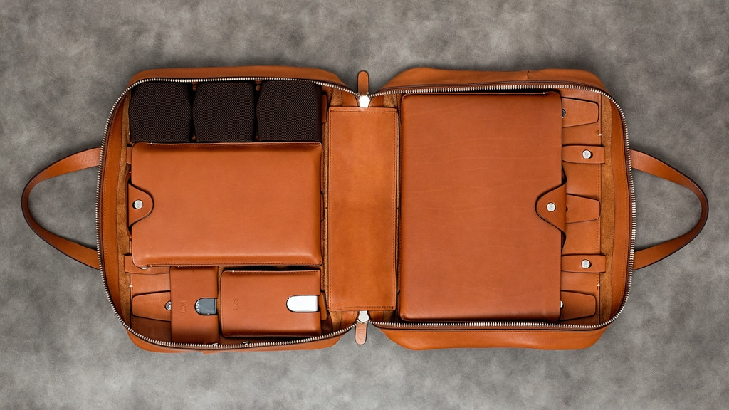 Anson Calder Bags and Cases: Customizable Access w/o Excess project video thumbnail