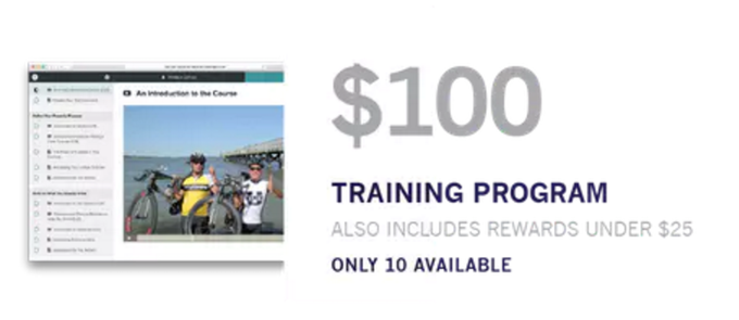 Check out the Training Program content by clicking here