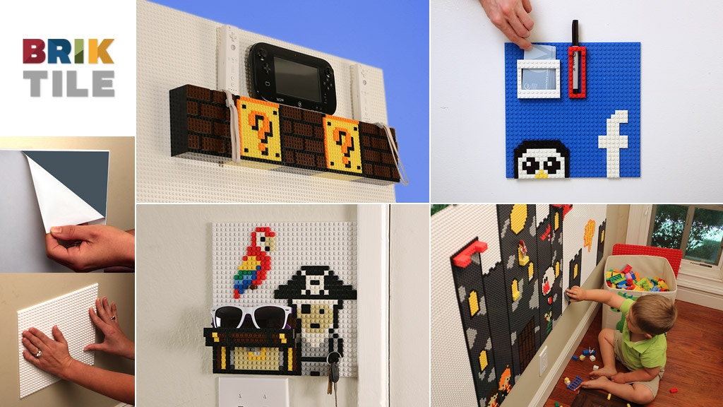 Brik Tile | Lego™ Compatible Wall Tiles by Jolt Team