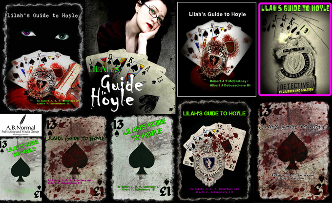 """Mock Up of """"Evolution of Covers: Lilah's Guide to Hoyle."""""""
