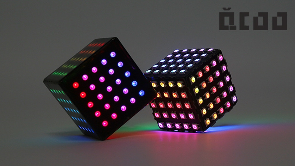QCoo: The World First 3D Snake Cube with AR and LED Magician project video thumbnail