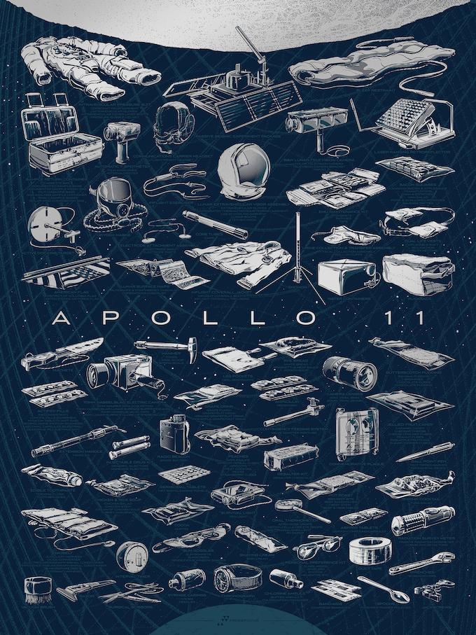 The Apollo 11 Collection Poster
