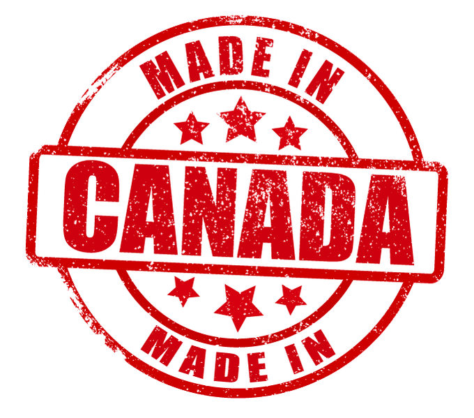 MANUFACTURED, ASSEMBLED AND PACKAGED IN CANADA