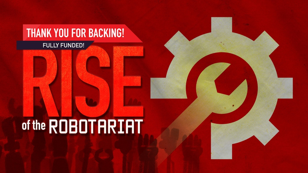 Rise of the Robotariat: Co-op Board Game for Robot Rebels project video thumbnail