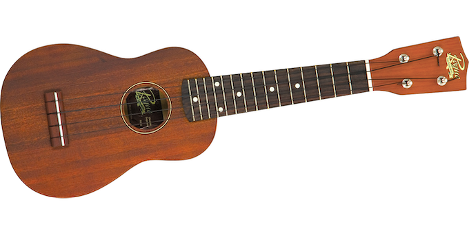 The ukulele has a mahogany body, champion-style friction pegs, inlaid position markers and includes a carrying bag! The ukulele will be signed by the cast & creative team of 'TINY!'