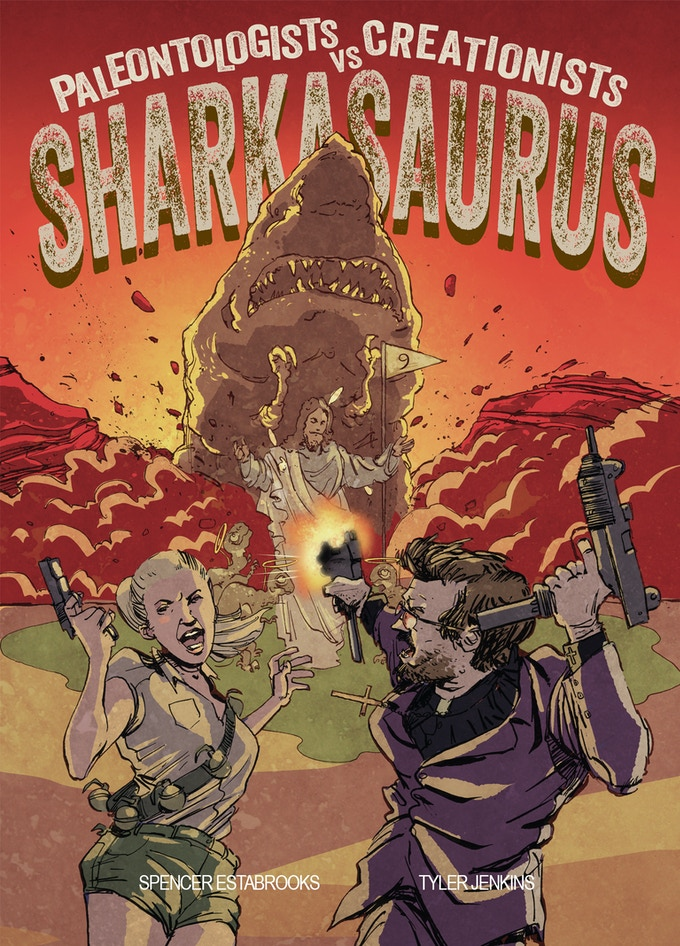 Sharkasaurus Cover