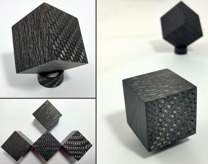 Threads And Fibers Mail: Infinity Cube: Pure Carbon Fiber By Patrick Adair —Kickstarter