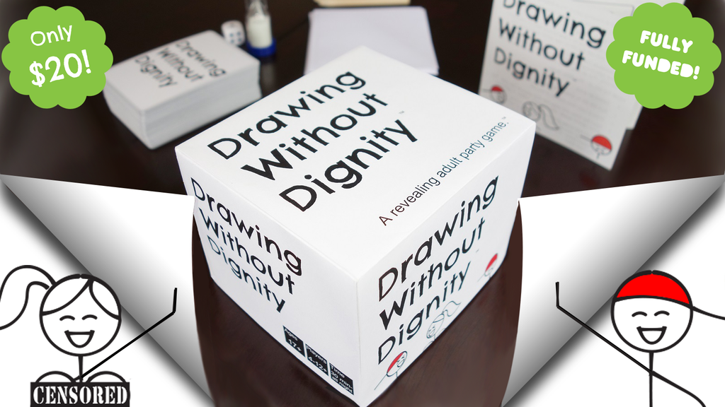 Drawing Without Dignity: An Adult Party Game project video thumbnail