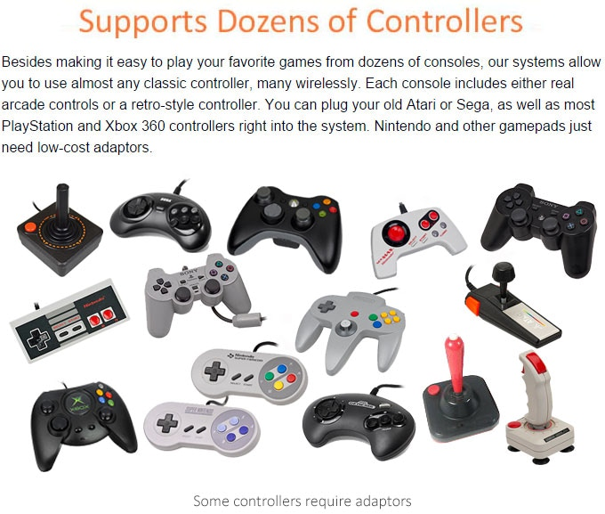 Supports up to 4 controllers at once!