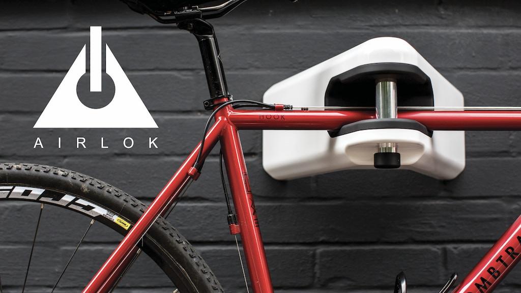 AIRLOK: High Security Bike Storage Hanger | Store + Lock project video thumbnail