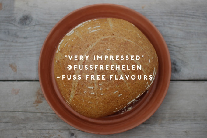 Fuss Free Flavours opinion of product testing The Spring Oven with sourdough