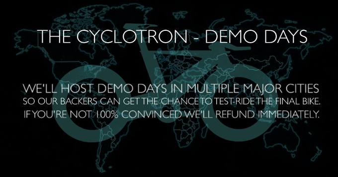 The Cyclotron Bike Revolutionary Spokeless Smart Cycle By