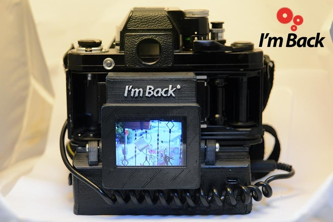 I'm Back - TFT touch display - Shoot and review your photos