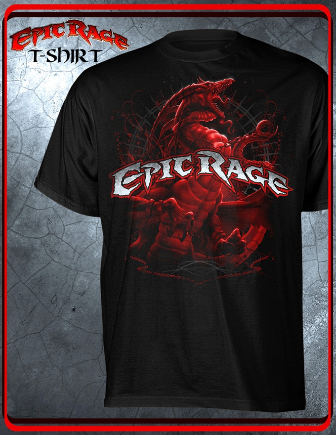 The Epic R.A.G.E. Red Dragon Tee