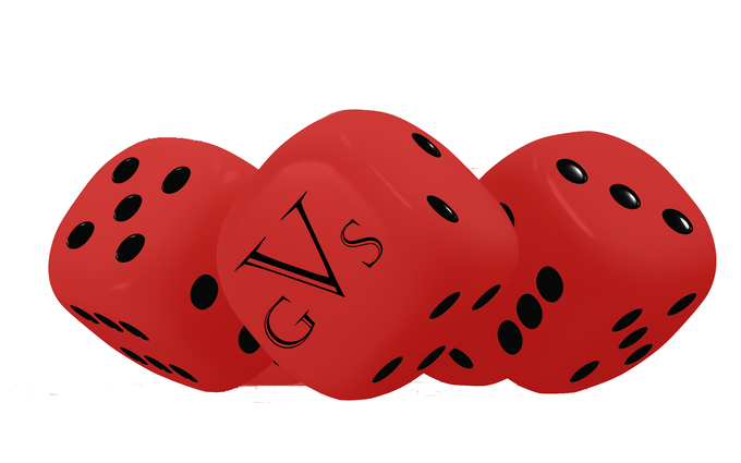Vindicant Games dice (color subject to change)