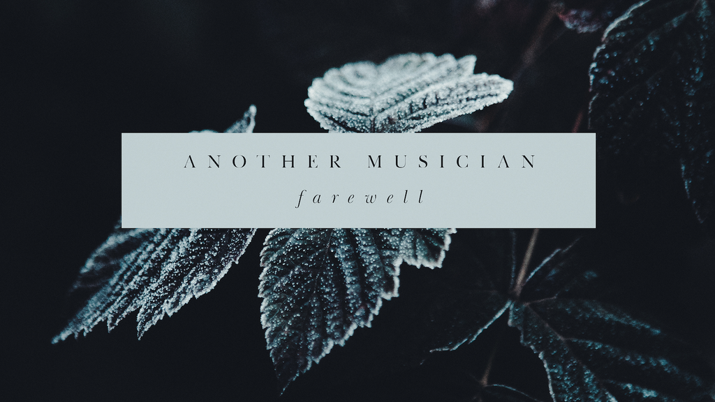 """Another Musician's """"Farewell"""" album for late father project video thumbnail"""