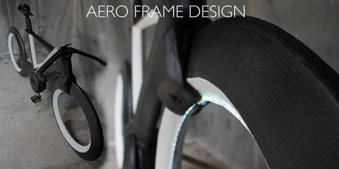 Ultralight Carbon Fiber Aero Frame Design