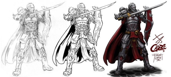 Cornerstone Creative Studios literally brought the Knight to life. He is ready to do battle!