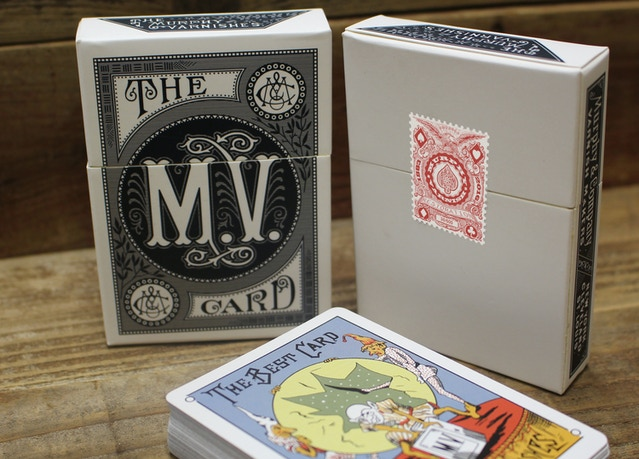 1876, Mauger Quadruplicate Playing Cards Restoration by Michael
