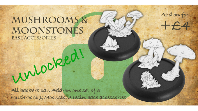 Stretch Goal 4: Mushrooms & Moonstones Add-on for +£4