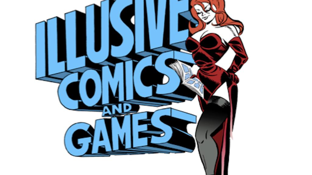 Building The New Illusive Comics & Games project video thumbnail