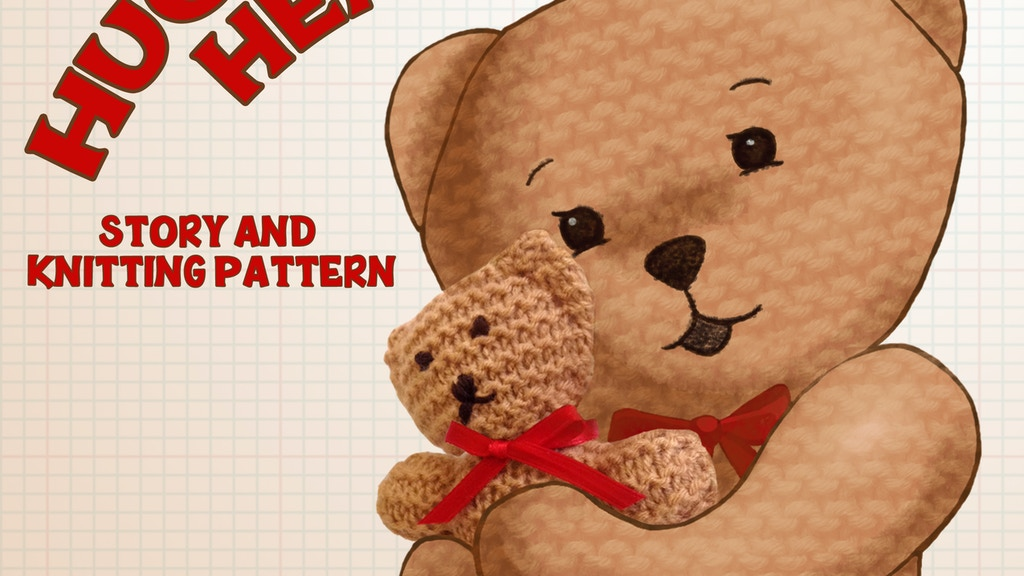 Project image for Huggable Henry the Bear - story including knitting pattern