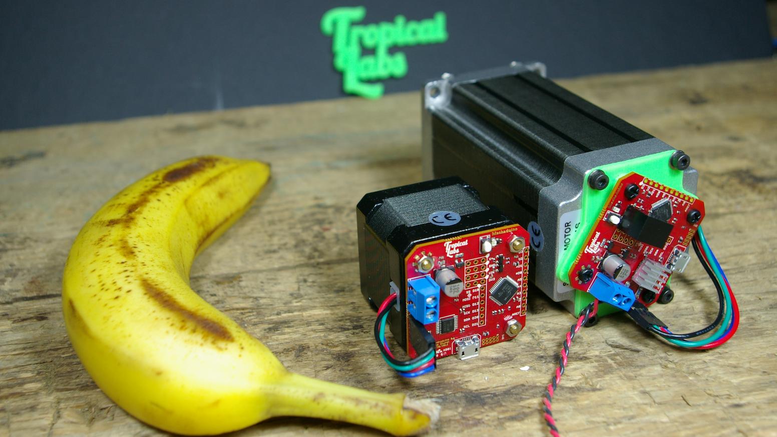 Mechaduino - Powerful open-source industrial servo motor  by