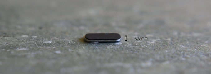 Length: 11 mm Width: 4.5 mm