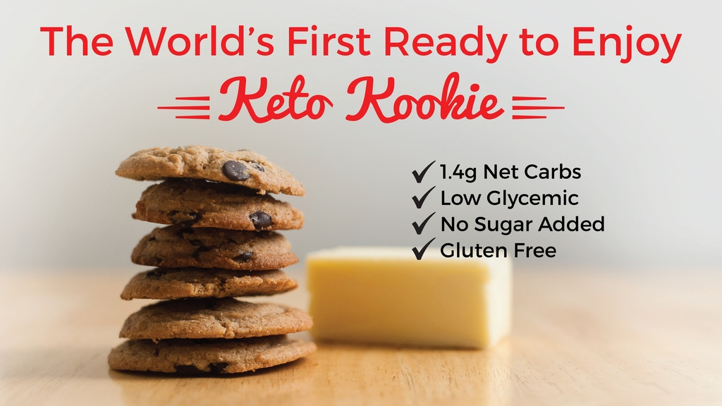 The World's First Ready to Enjoy Keto Friendly Cookie project video thumbnail