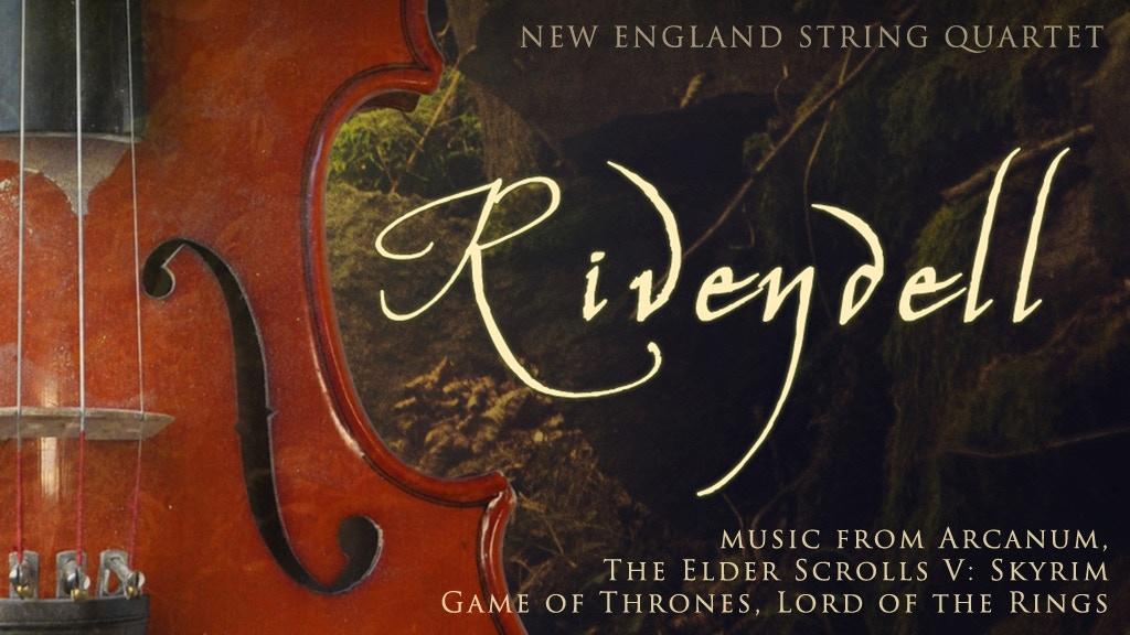 """Rivendell"" - fantasy string quartet album release project video thumbnail"