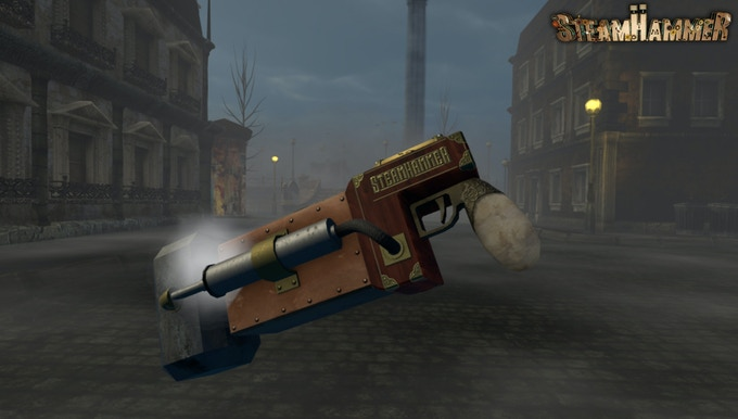 Primary Weapon No.1 - The SteamHammer