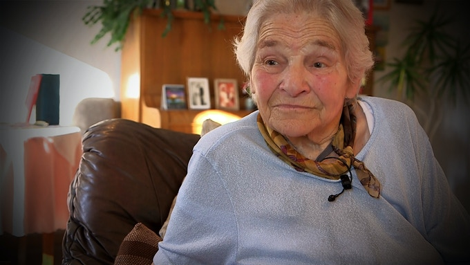 Lissi, my grandmother - she housed little Iris for almost a year