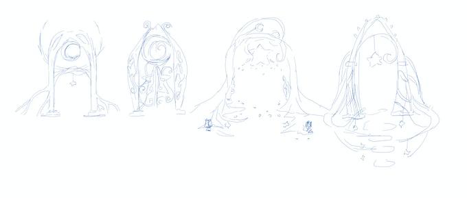 Original Sketch of the Gate