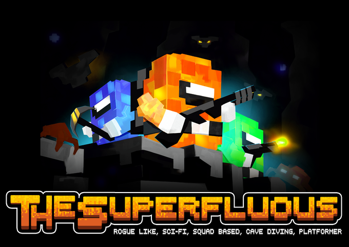 The Superfluous: Rogue, Squad Based, Cave Diving, Platformer