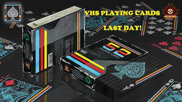 Vhs Playing Cards By Classics Playing Cards Kickstarter