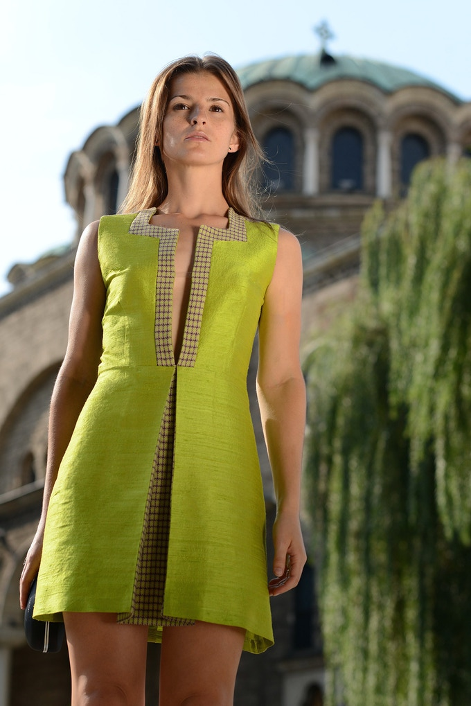 Vida - Modern Take on Traditional Slavic Sheath Dress