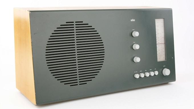 Vintage Braun RT 20 Radio with iPhone input ($2,500 level)
