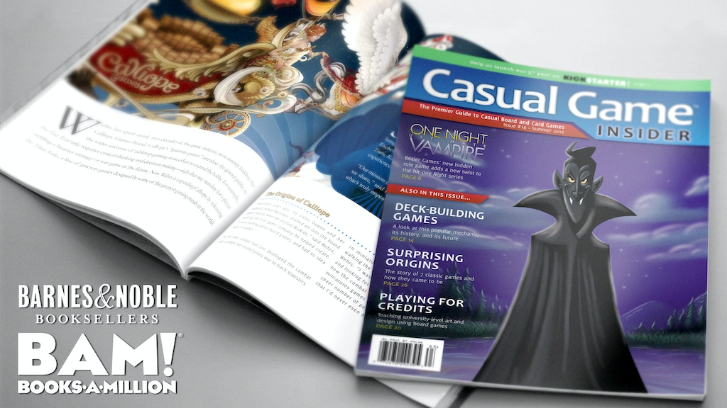 Casual Game Insider - Tabletop Gaming Magazine (5th Year) project video thumbnail