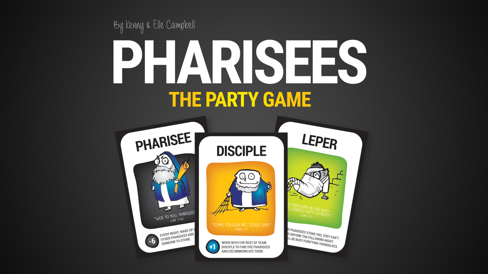 It's The Pharisees vs. The Disciples in this new take on a classic party game. It's like Mafia... but with a lot more Bible verses.