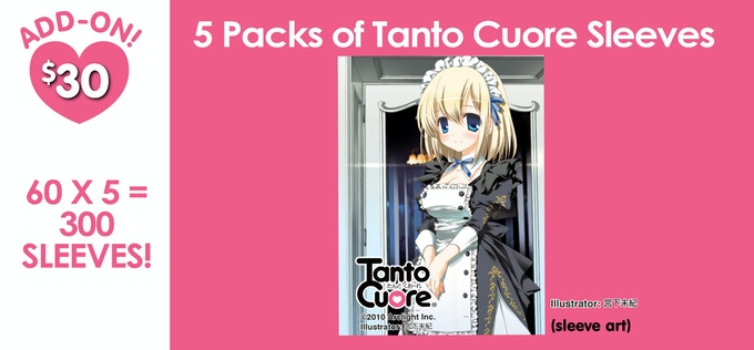 Tanto Cuore Card Sleeves