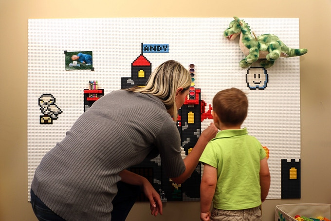 Brik Tile Lego Compatible Wall Tiles By Jolt Team
