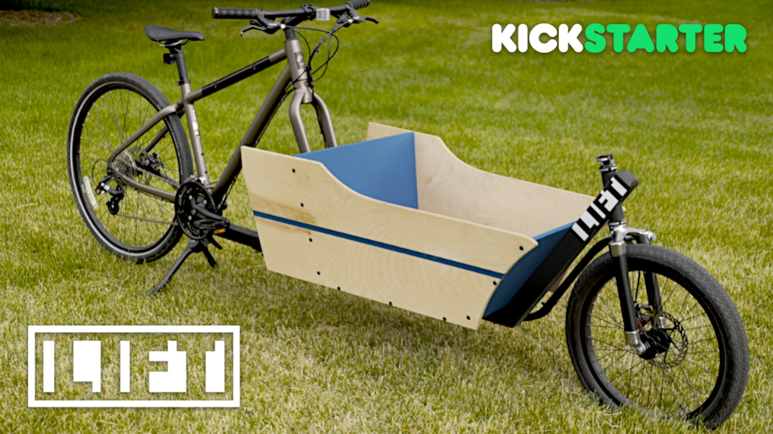 The LIFT turns YOUR bike into a Cargo Bike. And back again... Now your bicycle can do so much more.