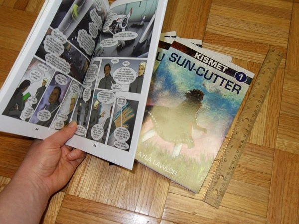 Kismet: Hunter's Moon graphic novel by Layla Lawlor