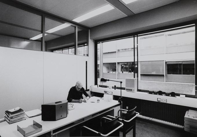 Rams at work at Braun, circa 1980s