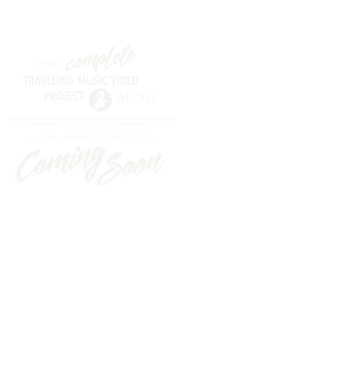1 Filmmaker + 7 Bands + 10,000 Miles. Fool's Road is a traveling collaborative project, made to create music videos for the bands, with the bands.