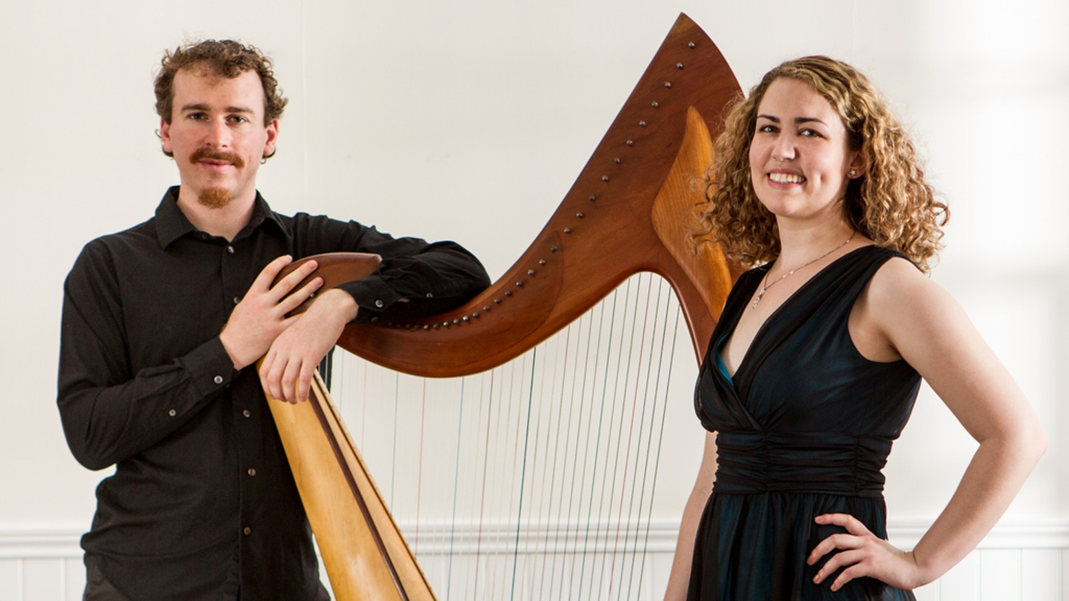 Soprano & harp Christmas album! Phoebe Gildea & Noah Brenner had a Jolly July revving up for their first joint album. Release date: December 2, 2016.