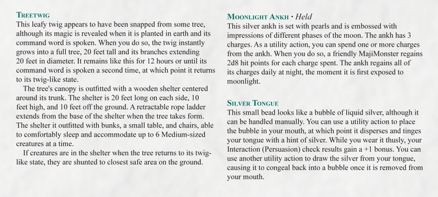 MajiMonsters: Monster-Catching Tabletop Role-playing Game by