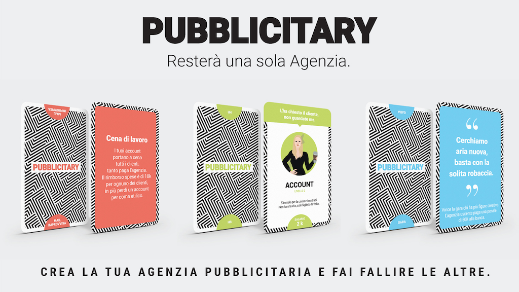 PUBBLICITARY: board game on the Italian world of advertising project video thumbnail