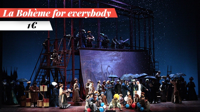 Enjoy La Bohème in live streaming!